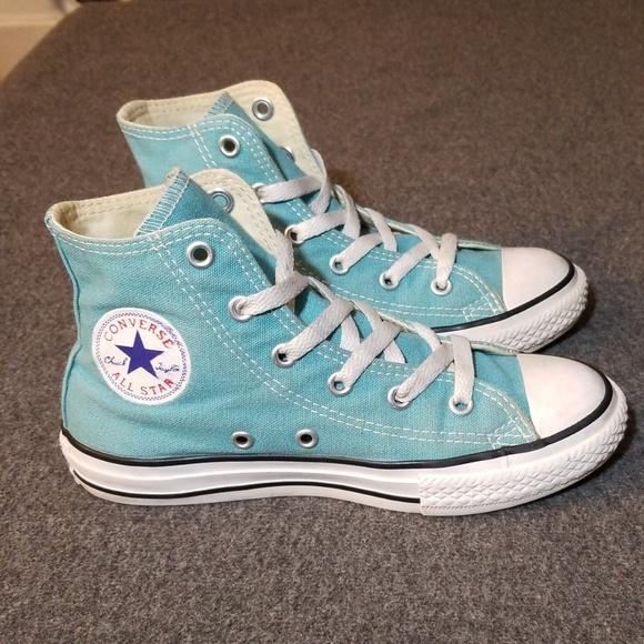 9d511dadd49e Converse Other - Converse Youth CTAS High Top Sneakers Aegean Aqua